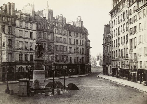 Place Dauphine, #Paris - 1865 and 2019 - pic.twitter.com/4bwwsTWaul