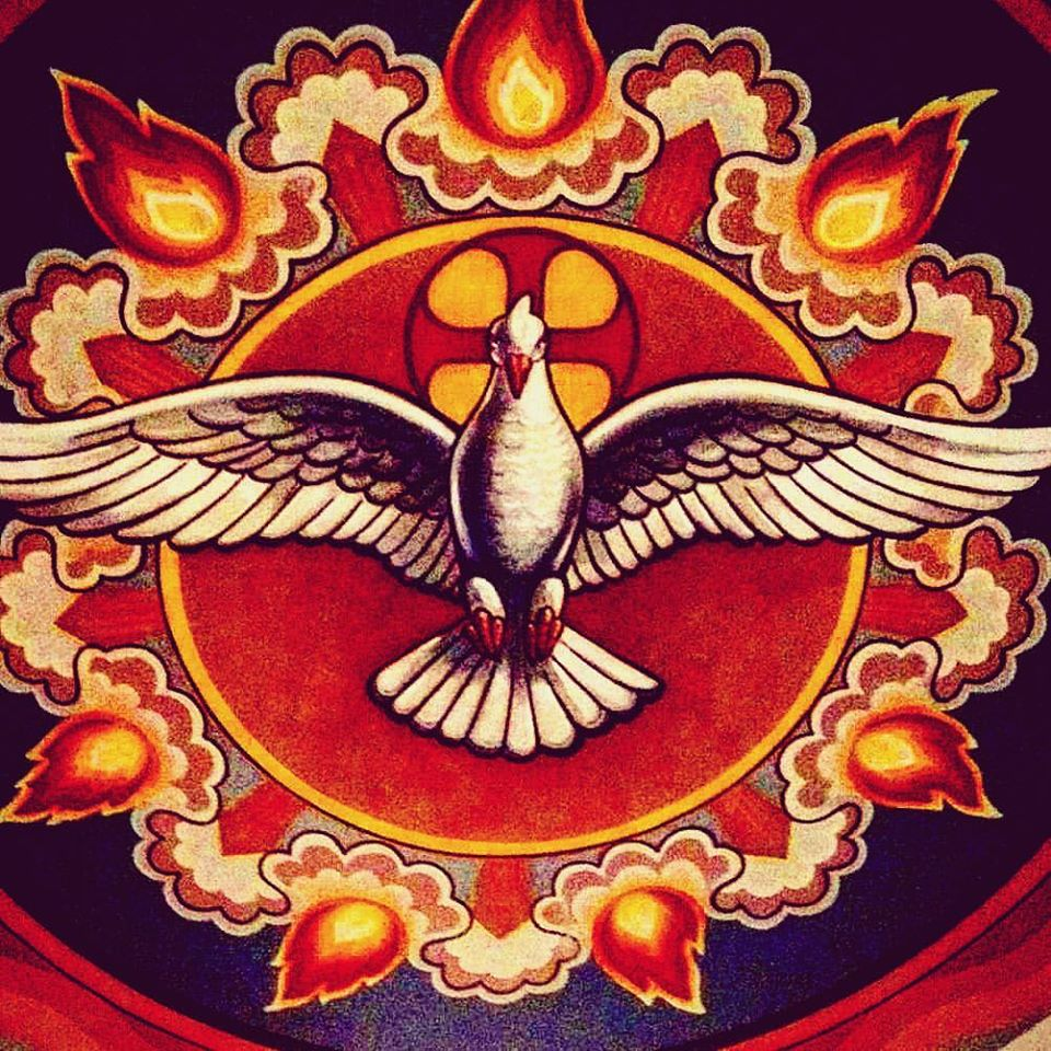 """Photo of the Day - Happy Feast day of Pentecost + """"Then there appeared to them tongues as of fire, which parted and came to rest on each one of them. And they were all filled with the Holy Spirit."""" -Acts 2: 3-4 #Easter #Pentecost https://t.co/hSgNQPLmHa"""