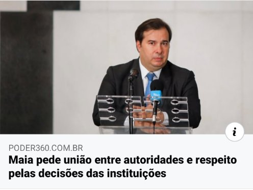 Então respeito com nosso presidente ou caí #ForaMaia https://t.co/b6MU1cmKoG