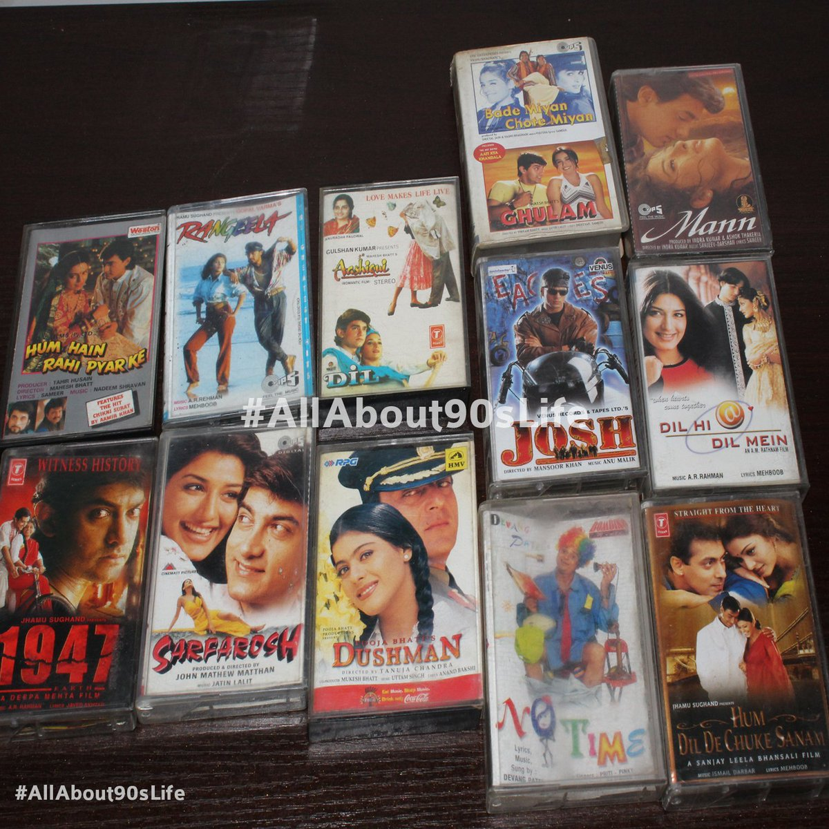 treat for @aamir_khan @itsKajolD @iamsrk @iam_juhi @BeingSalmanKhan @MadhuriDixit @iamsonalibendre @duttsanjay  fans here..   #AllAbout90sLife #90s #90slove #90sNostalgia #AishwaryaRaiBachchan pic.twitter.com/imQZi05BWh