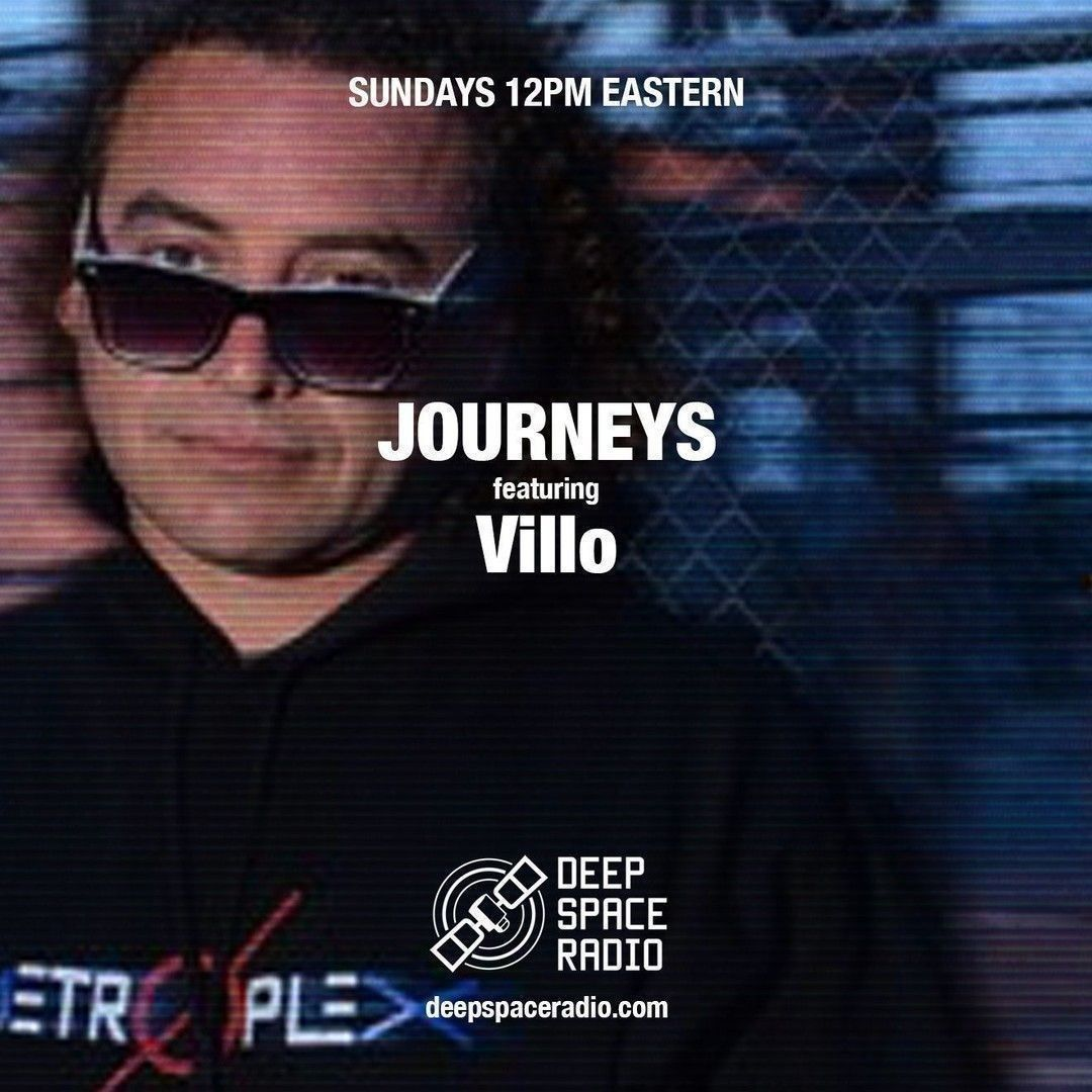 Journeys featuring Villo will be #live at 12pm EDT today! Go to https://t.co/zxcC0yMFnd for all of the latest hits and #dj spins. #deepspaceradio #housemusic #techno #edm #dancemusic #house #electro #detroit https://t.co/iG7uFjws6y