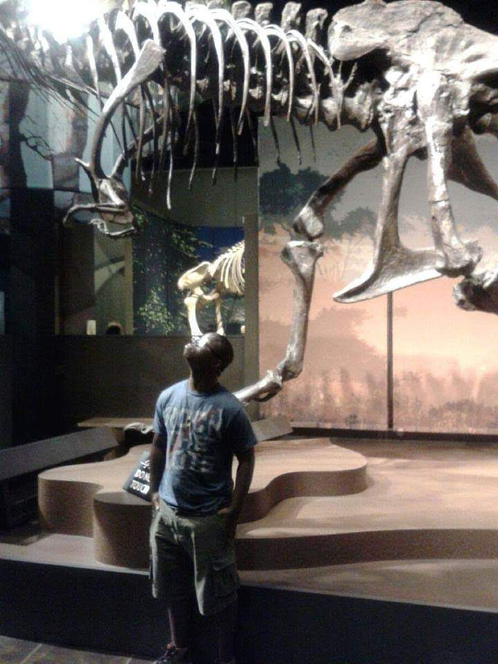 Im a young black paleontologist, geologist, and Paleo/Geo educator in Gwinnett County, Georgia. I enjoy watching modern day dinosaurs. I enjoy unlocking the secrets that are hidden in the rocks around us and sharing the history of 4 billion years. #BlackInNature #BlackAFinSTEM