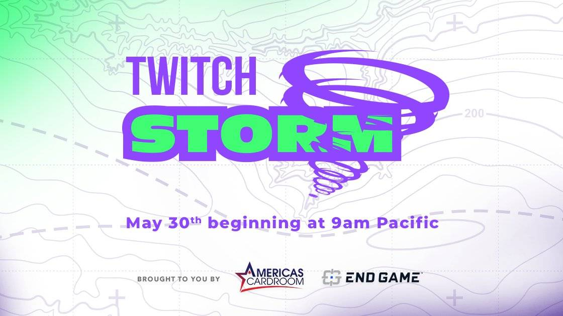 Join the Storm on its final stops! Endgame.com/chasethestorm #TwitchStorm