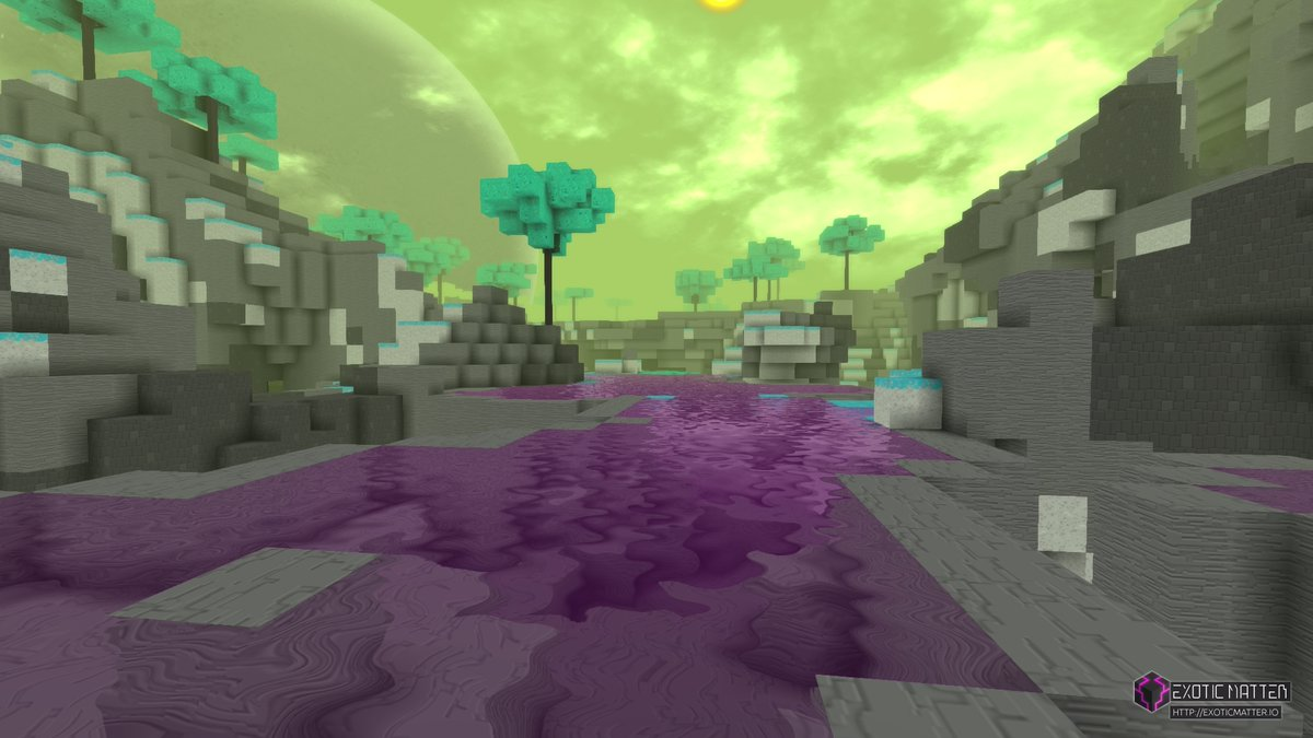 Ever wondered what a Metroidvania crafting and survival game would look like? Check out #ExoticMatter; the world's first procedural voxel-engine survival Metroidvania! Wishlist #ExoticMatter now on #Steam:  https://t.co/r3MY4W6CcO  #game #gaming #scifi #sandbox #adventure #steam https://t.co/mBVg7uZbmr