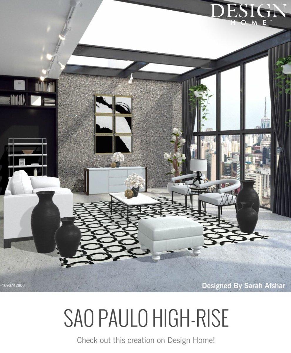 São Paulo High-Rise #DesignHome #Design #HomeDesign #Home #PlayApartTogether #PlayAtHome #App https://t.co/qgwk1Try6w