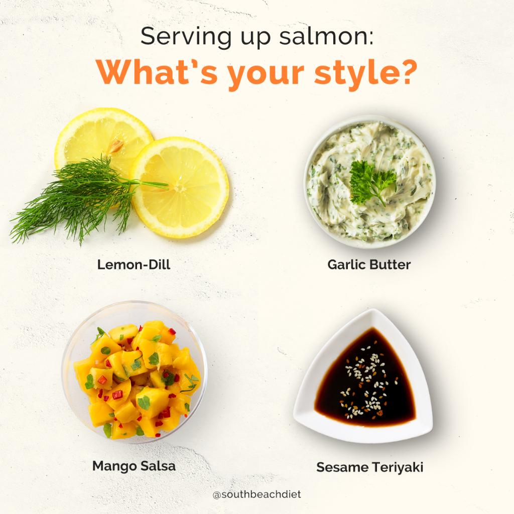 Cooking salmon? What do you put on top?