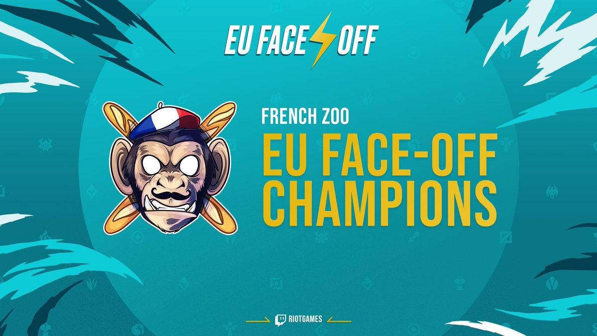 🇫🇷 THE FRENCH ZOO ARE THE #EUFACEOFF CHAMPIONS! 🇫🇷