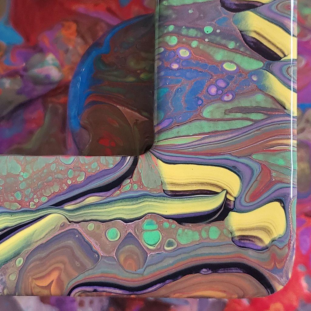 #paintpour #Acrylicpaint #paint #acrylicpaintpour #lilacharlequinstudio #makearteveryday #etsy #artforsale #jewelryforsale #handmade #Coloradoartist #elementalart #inspiredbynature