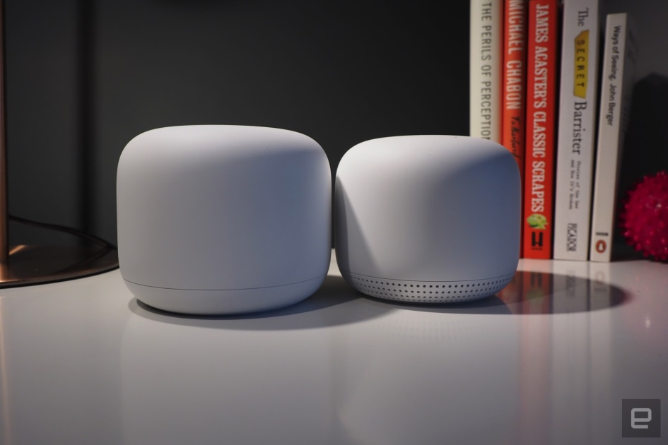 Grab a Google Nest WiFi 3-pack with a Home speaker for $300 at HSN