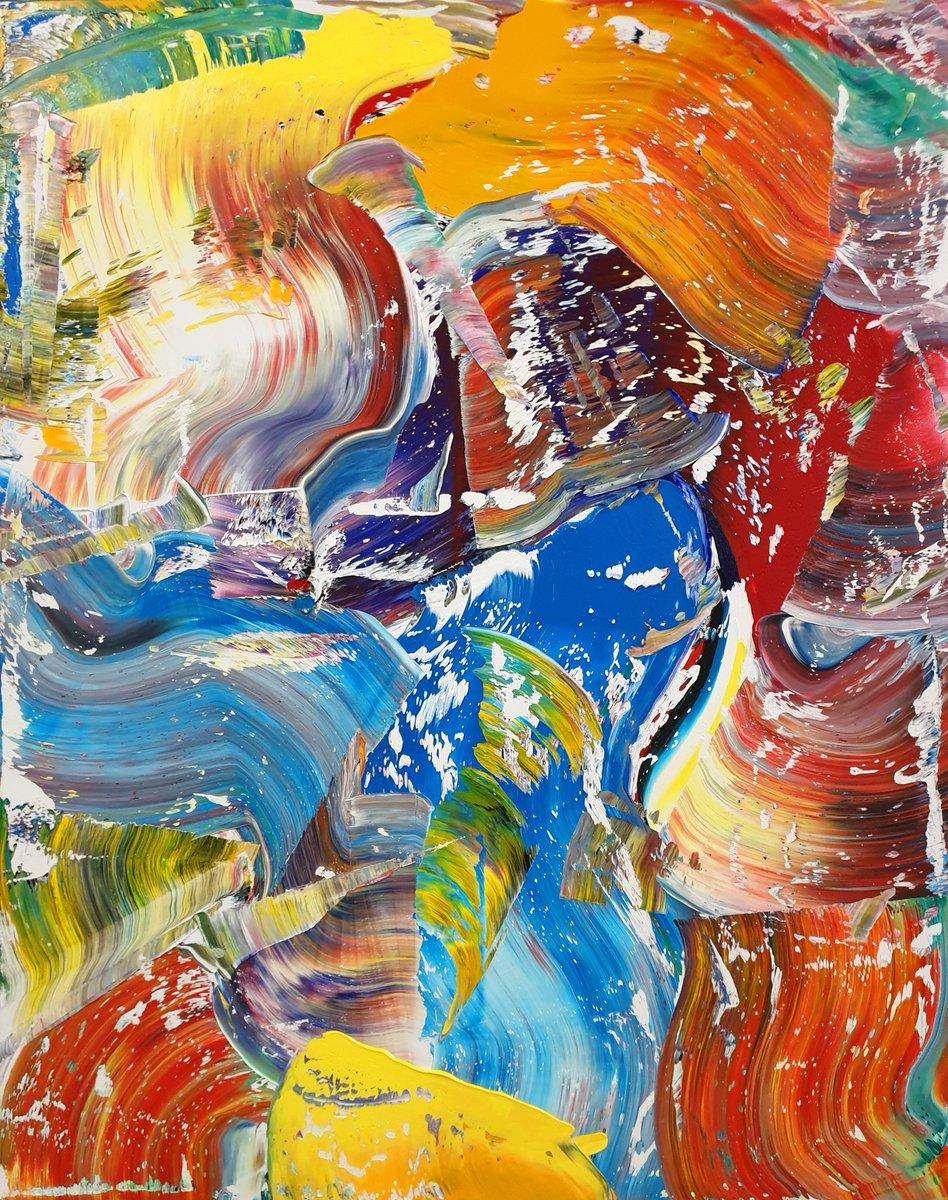 Abstract No. 506-III, oil on canvas; 80 x 80 x 2 cm. #art #painting #abstract #abstractart #expressionism #modernart #oilpainting #artfinder #saatchiart #artoftheday #singulart @etsypic.twitter.com/ewPG37qgn7