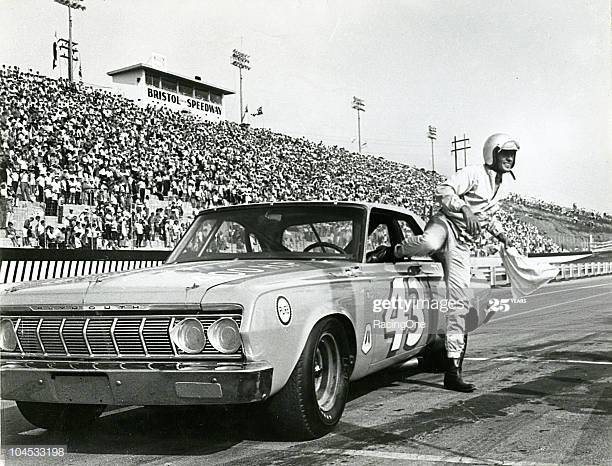 I'm convinced you could send Richard Petty on track in his '67 Plymouth and he'd even outrun Joey Gase #nascar<br>http://pic.twitter.com/02C64fX5gY
