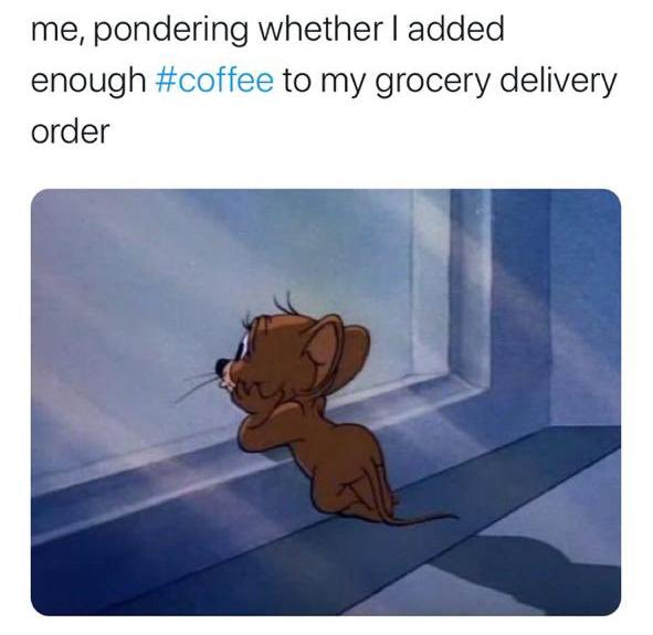 Now I know I'm not alone! Good thing BeanBurds delivers within 3 Business Days so the wait isn't too long! #uaecoffee #coffeeuae #coffeememe #beanburds #coffeebeans #uaecoffeeshop #coffeeroasters #dubai #uae #staysafe #orderin #mydubai #dxb #dubaife #supportsmallbusiness https://t.co/7WNmynUONi