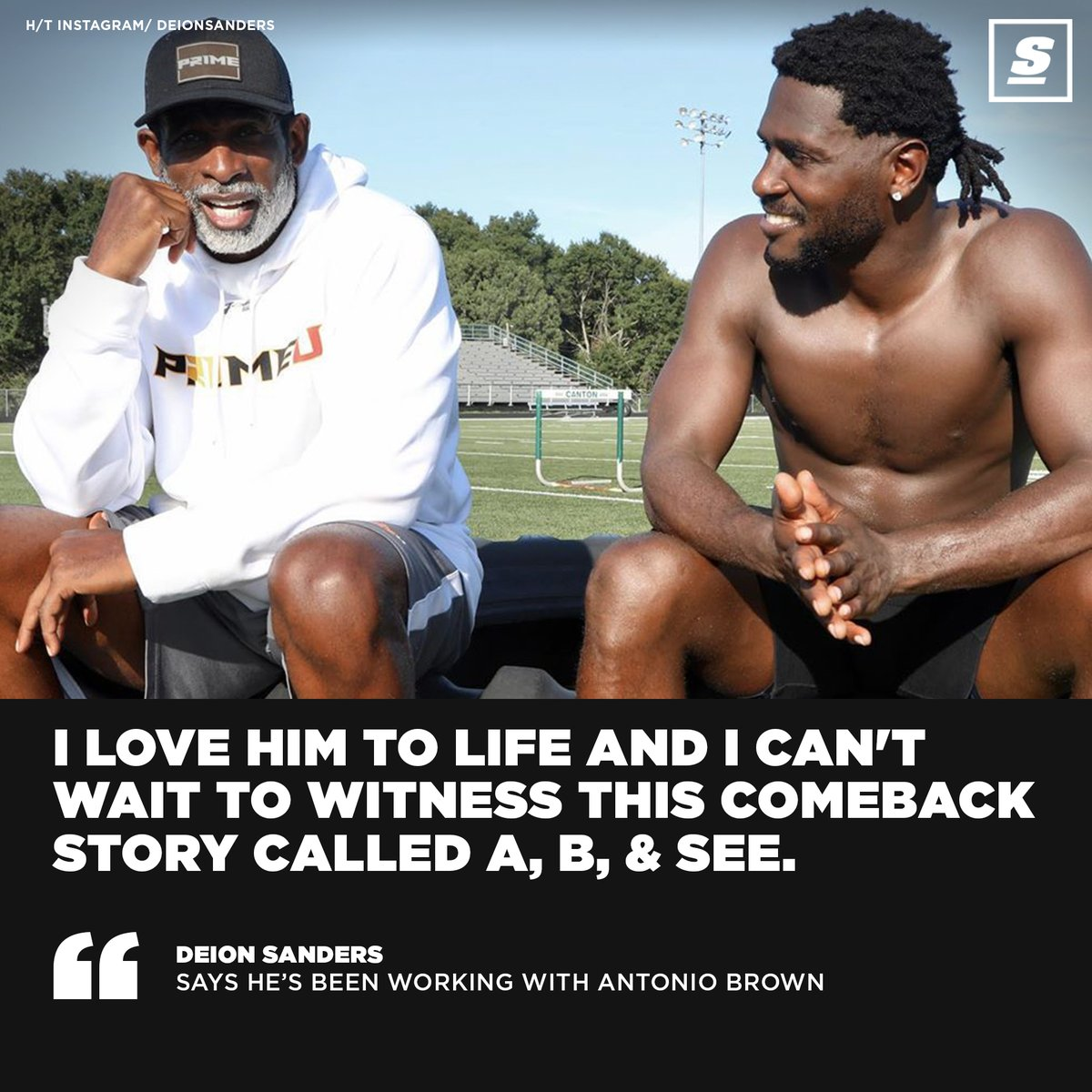 Deion Sanders wants to see AB make a comeback.