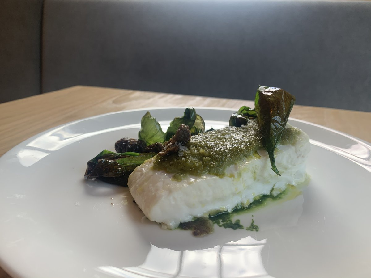 New on our menu in #Westport: #Maine #Halibut baked in spruce paper with morels and koji cured ramps...Order online now - https://t.co/8Oxop1IEKZ - for curbside pick-up between 5-8:30p! #dinner #sunday #weekend #restaurant #takeout #supportsmallbusiness #eatlocal #westporteats https://t.co/ktt3F3Evo4