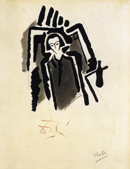 Self-Potrait, 1923 #dali #salvadordalipic.twitter.com/UDoytjhaGq