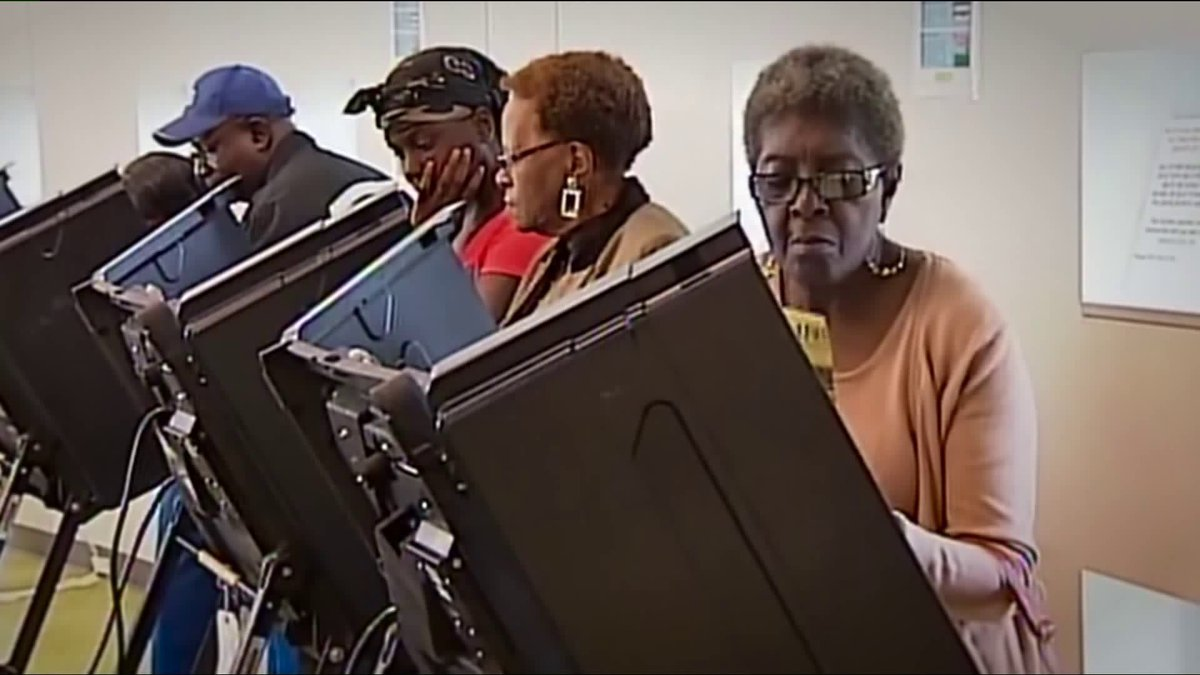 Too many people are willing to ignore that touchscreen voting machines have been disappearing black votes in the South. I wrote about it for @whowhatwhy.   https://t.co/ApYH2nMYAM https://t.co/r5dU2wNetq