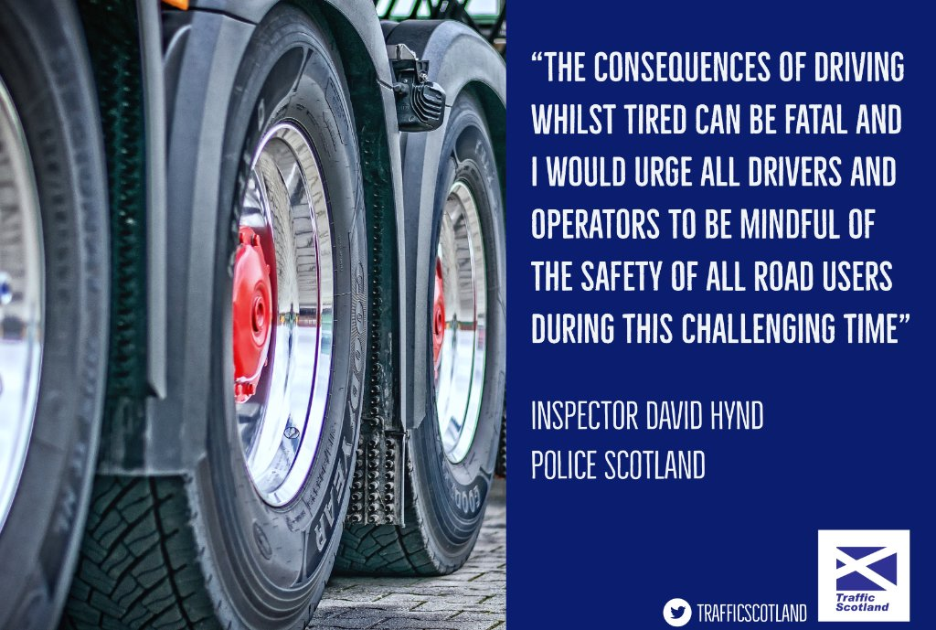 test Twitter Media - 🚛HGV DRIVERS ❗  We appreciate the work you're doing to keep our country going during #Covid19   But PLEASE remember 💤Tiredness can kill⚠  More info👉 LINK  The only real cure is a proper sleep. Caffeine or a nap only allows you to keep driving for a short time #TakeCare https://t.co/quVvXhK1b2