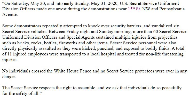 Rx6tMC3W_bigger Report: More than 50 Secret Service Officers Injured Sunday Evening [your]NEWS