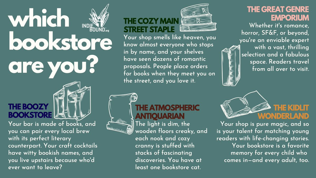 Which bookstore are you? 😍 https://t.co/bBCnKNqZs3