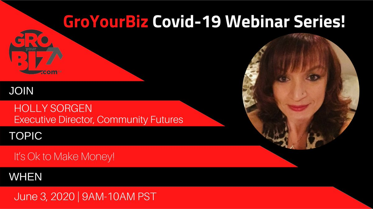 "Do you understand what #wealth means? Join us for an informational webinar to learn that ""It's Ok to Make Money!""  This is a #FREEWebinar, so RSVP Now and bring your questions! http://ow.ly/x3H450zLUwh  #TogetherAtHome #WBO #MakeMoney #WomenInBusiness pic.twitter.com/CE5ylEjEta"
