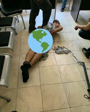 Rape with baton has been one of the most common torture methods since 2016 in Turkey. For the first time, a suspects photo was shared in social media. @CoE_CPT @NilsMelzer @apt_geneva @Trial @FreefromTorture @DignityDK @UN_SPExperts
