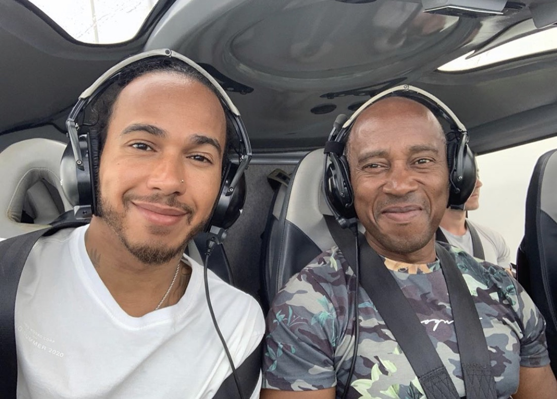 I wanted to take a moment to acknowledge my dad, a strong and successful black man. Because of him, both @nicolashamilton and I have careers, strong mindedness and determination. He has always been my hero. Happy 60th Birthday dad🖤 #blackexcellence #happybirthday https://t.co/CHBnbq0TjG