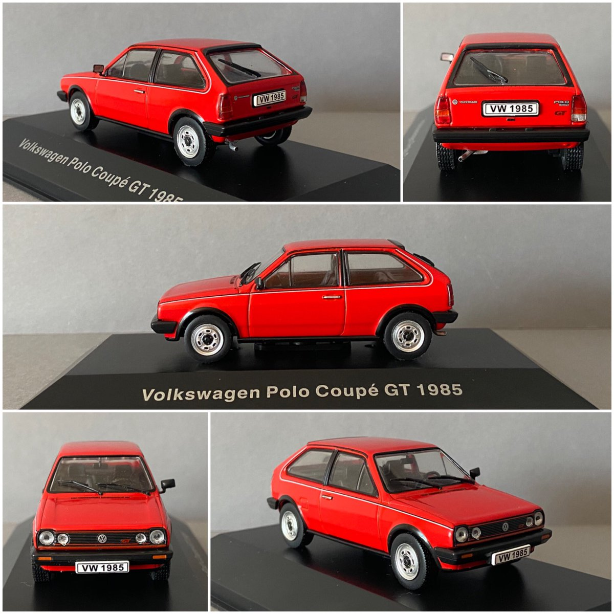 Volkswagen Polo Coupé GT (1985)  #vw #autostadt #volkswagen #modelcars #deagostini #scale143 #miniatur #vwpolo #polocoupe #g40 #polo86c #86c #oldtimers #carspotters #caroftheday #classiccaroftheday #automotive #carphotography #wirbleibenzuhause - https://www.instagram.com/p/CA3Dsq_JvwL/pic.twitter.com/0jegYGoF9O