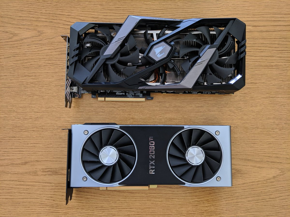 2080+2080Ti= 4160Ti? Help me out, I was never very good at math.