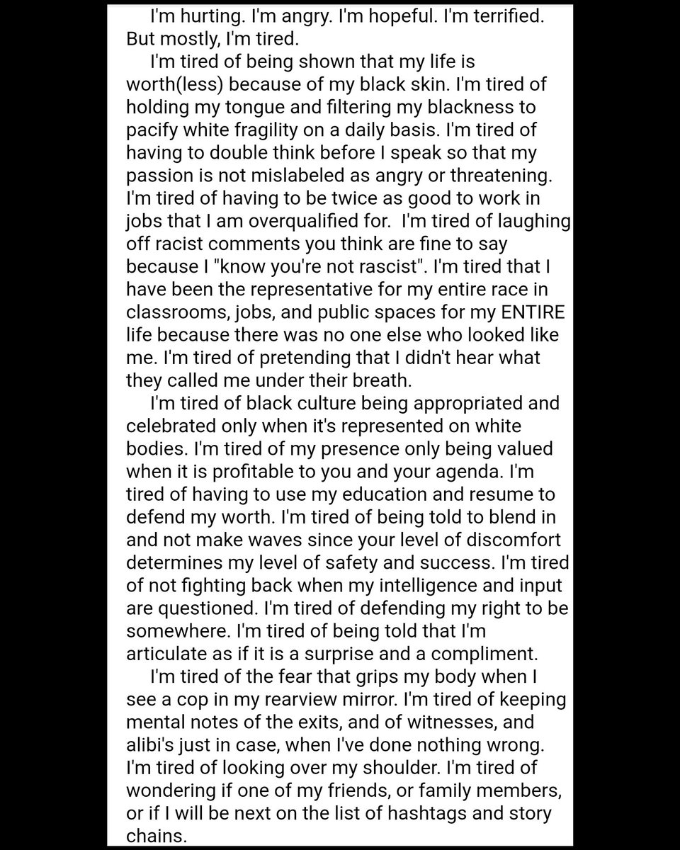 My thoughts. Sincerely, Brittney The Black. #Broadway #BlackLivesMatter #BrittneyTheGoodpic.twitter.com/jNAvsAcmZp