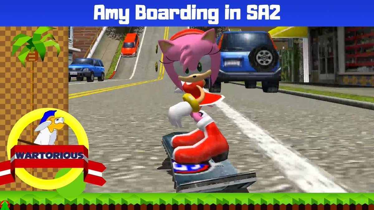 SA2 City Escape But It's Amy Boarding! 💕    #sonic #sonicthehedgehog #sega #sonicmovie #nintendo #sonicthehedgehogmovie #art #sonicfanart #shadowthehedgehog #videogames #gaming #memes #amyrose #anime #sonicx #tails #sonicboom #r #sonamy #sonicart #sonicme