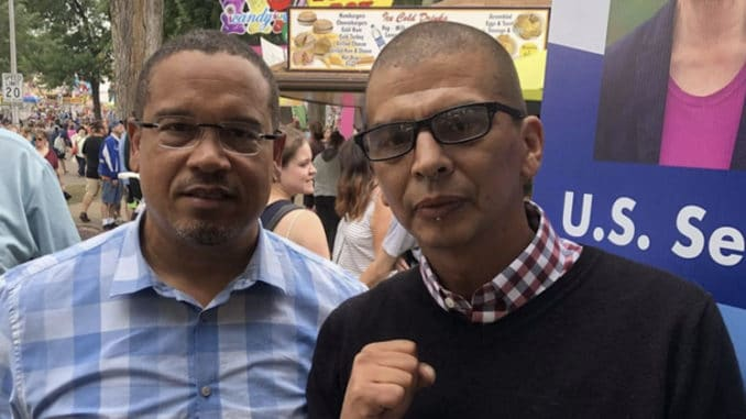 This is Keith Ellison with an Antifa leader.   It would be a shame you shared this.... https://t.co/lpfTQc7XMO