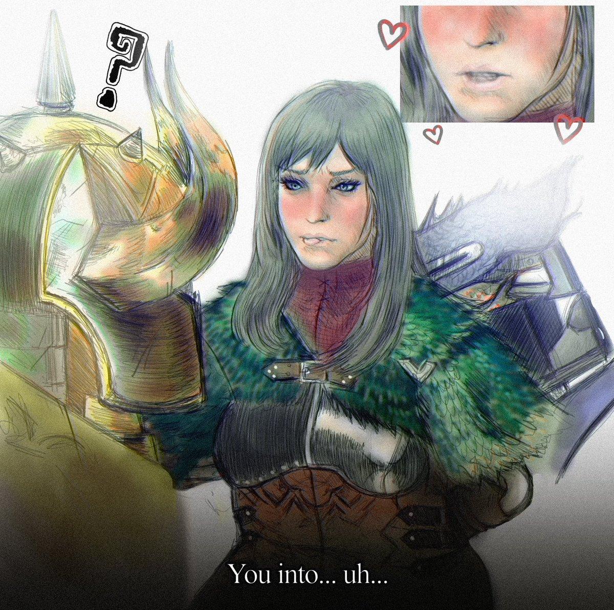 Mirin' , (MHW Iceborne, May 2020)  #digitalart #illustration #mhw #iceborne #hbg #lbg #bowgun #bowgunner #heavybowgun #heavybowgunner #stickyammo #mirin #pretty #prettygirls #pukeipukei #fanart #videogames #comicart #mangaart #armor #digitalpaintingpic.twitter.com/YkwLnpAozp