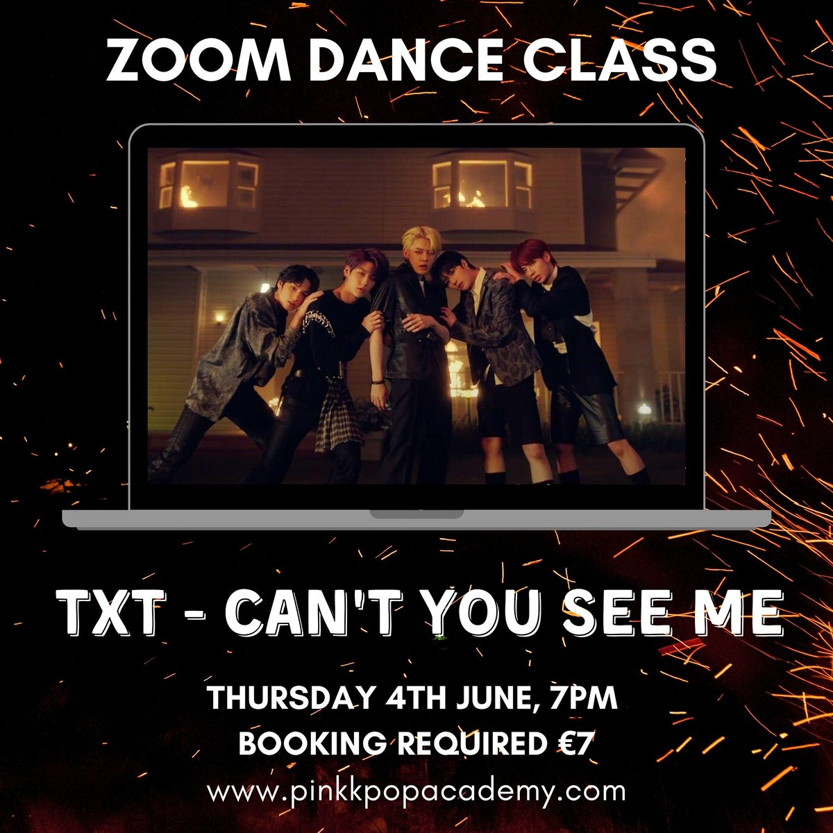 This week at Pink K-Pop Academy!  TXT: Thursday 4th 7pm Oh My Girl: Friday 5th 7pm Book here: http://www.pinkkpopacademy.com/book-online    #kpop #txt #cantyouseeme #ohmygirl #nonstop #kpopdance #kpopclass #kpoptutorial #danceclass #onlineclass #zoomclasspic.twitter.com/k0QaPTZqHM