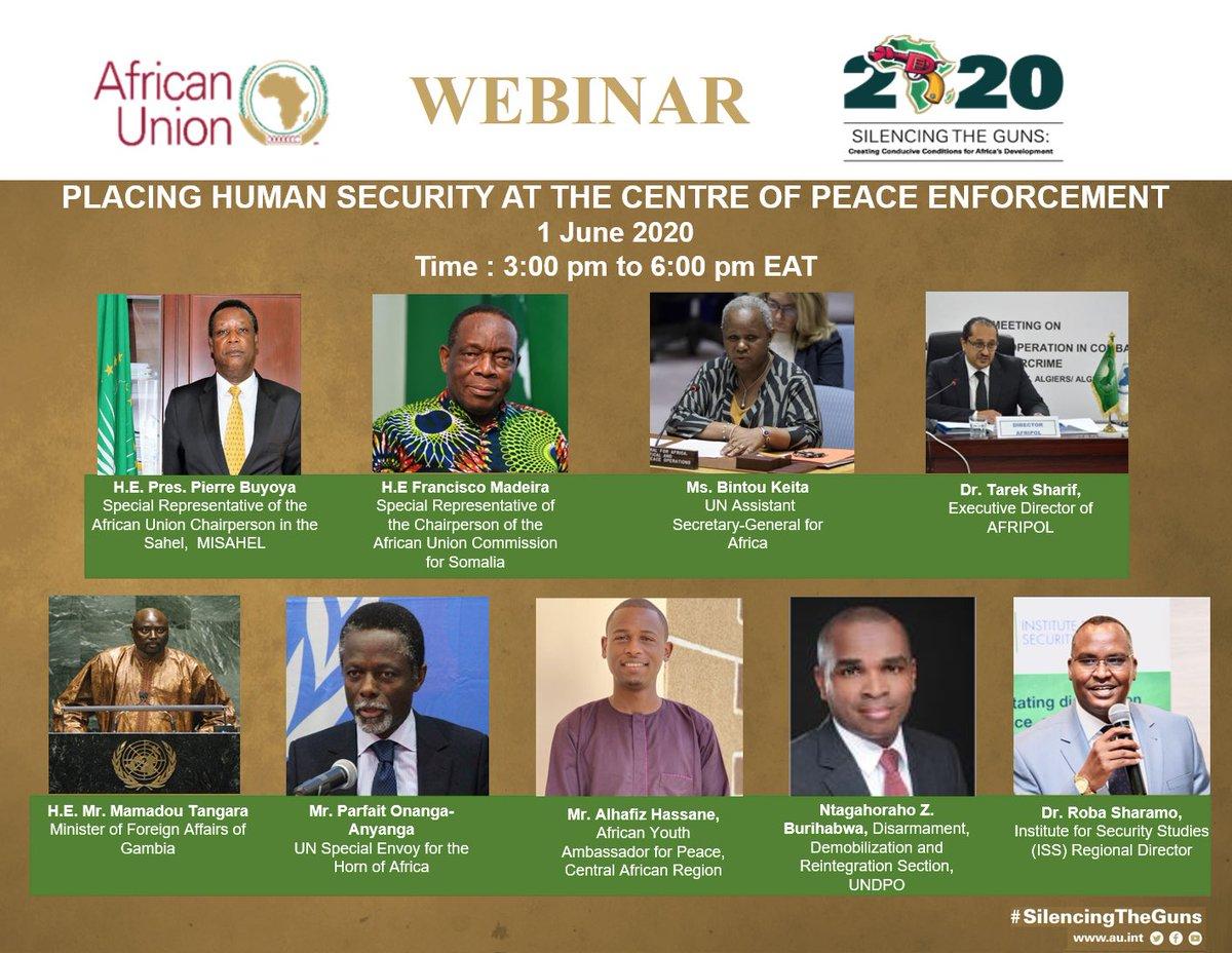 Shake things up Ambassador @HafizHa06  #SilencingTheGuns #STG #YOUTH4PEACE #peace #HumanRights