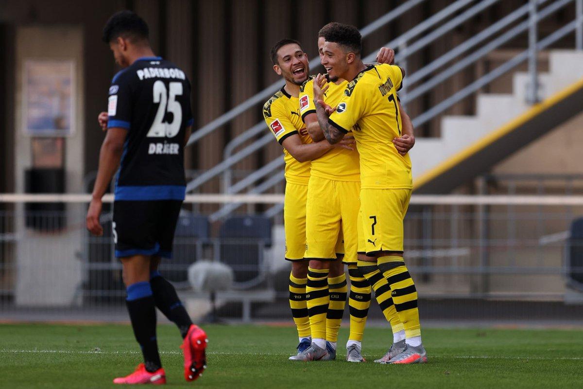 Xem lại Paderborn vs Dortmund, Bundesliga – 31/05/2020
