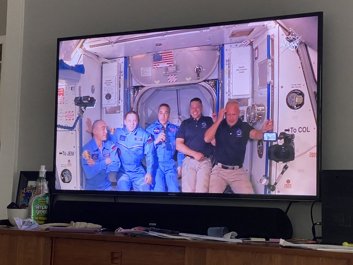 So proud! #launchamerica Loved hearing the back story on #Artemis — the sister of Apollo and moon goddess. Hopefully there will be more women and #poc on those expeditions. https://t.co/tCfVCLdRx6
