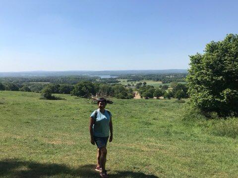Restarted training for Jordan desert trek with @Jel1Khp. What joy #outdoor #physicalhealth #mentalhealth #wellbeing #hiking #friendship. Big challenge but I'm fundraising for the amazing @_healthandhope. Pl consider sponsoring. Thanks so much. https://t.co/YGqUn3V7Tg https://t.co/s7rJyVBjq6