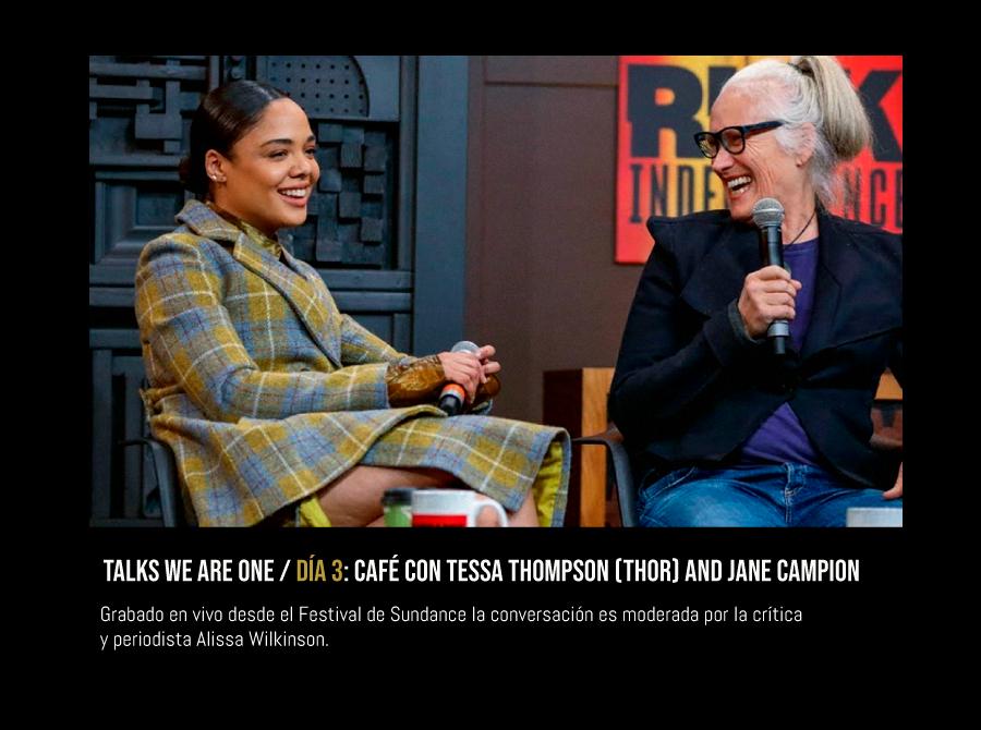 "l ""Conversación compartida por el Festival Sundance."" #WeAreOne  -  ► Disponible desde las 12:45 p.m.: http://bit.ly/WeAreOneMIC  @sundancefest #BuenDomingo #FelizDomingopic.twitter.com/BCZrQRRbzP"