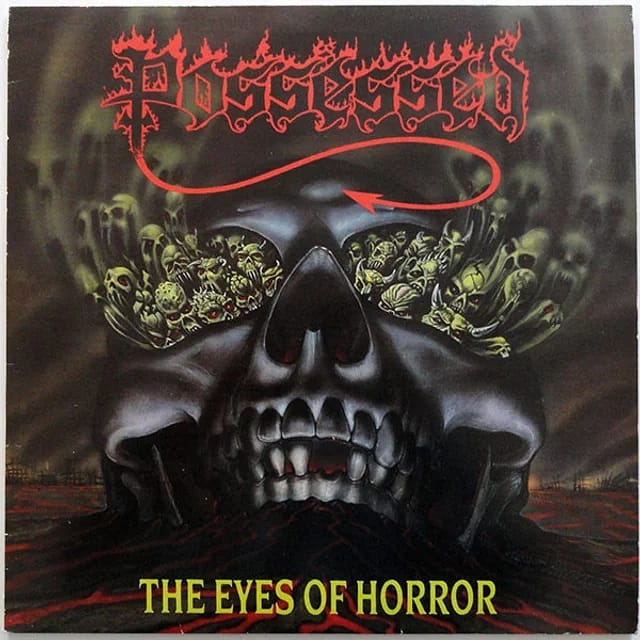 33 YEARS AGO TODAY #POSSESSED RELEASED THEIR EP 'THE EYES OF HORROR'.  Did you know? The album was produced by guitarist Joe Satriani.  https://www.jrocksmetalzone.com/on-this-daypic.twitter.com/1yEvrGM3NF