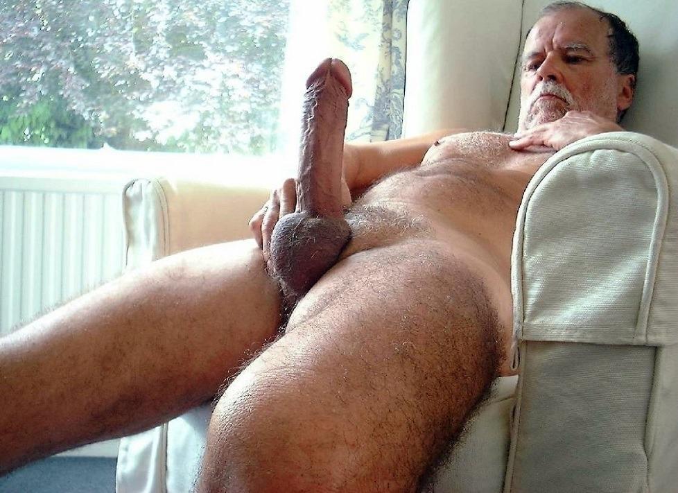 Old man big dick