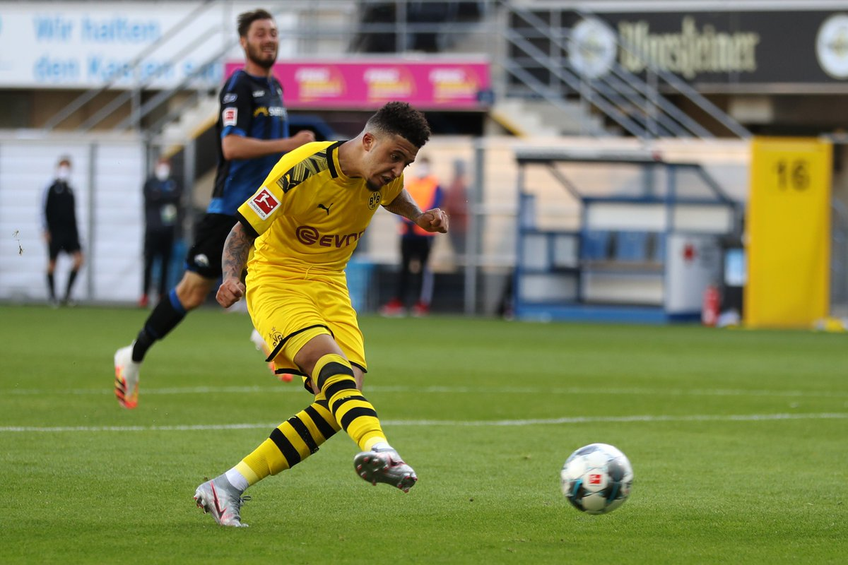 1989 - @Sanchooo10 is the first English player to score a hat-trick in one of the other top five European leagues since Brian Stein for Caen against Cannes in Ligue 1 - exactly 31 years ago today (31/05/1989). Remarkable.