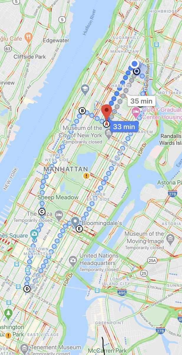 """Ferhat Zabun على تويتر: """"Şehirde ne oluyor diye şu güzergah üzerinden şehri  bisikletle yaklaşık 3 saat boyunca gezdim. İlginç bir şekilde bu güzel  havaya rağmen küçük bir protestoyla bile karşılaşmadım. Bu güzergahta"""