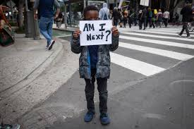 If that terrifies you imagine being a black mom or dad watching your son leave for school every day having instructed as best you can how not to get killed by cops for no good reason, knowing even if he does exactly as you say he's never safe from getting murdered by the state /9