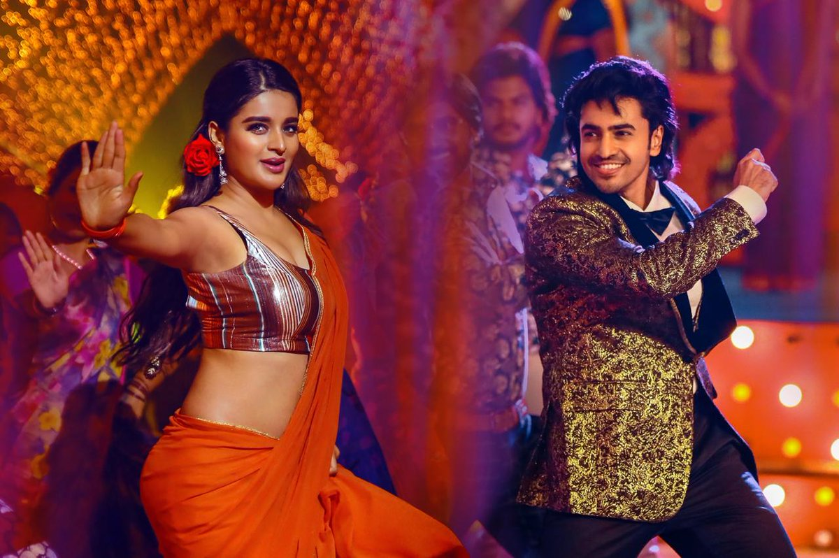 On the occasion of Evergreen's superstar Krishna gari birthday, the young hero @AshokGalla_ and team of #ProductionNo1 released a special video. #JumbareReloaded Watch here Right pointing backhand index http://youtu.be/e5NduDBgbLw @amararajaent @AgerwalNidhhi  #HBDSuperstarKrishna pic.twitter.com/hKNW82xFwV