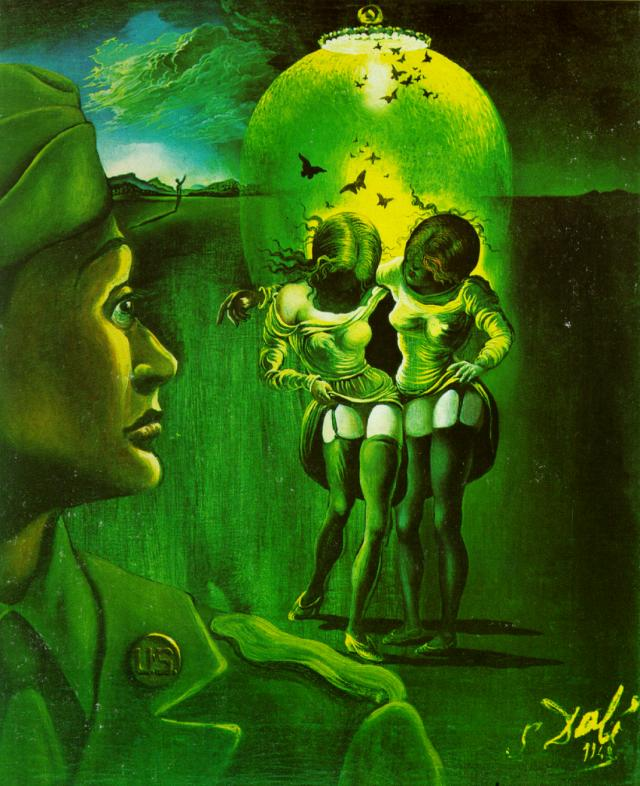 Untitled - for the campaign against venereal disease, 1942 https://www.wikiart.org/en/salvador-dali/untitled-for-the-campaign-against-venereal-disease… #salvadordali #dali pic.twitter.com/wlTCJKIP0t