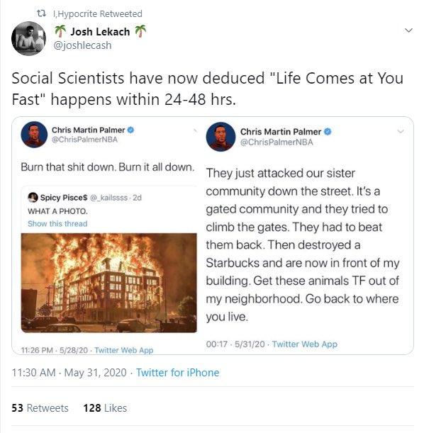 Burn someone else's shit down!