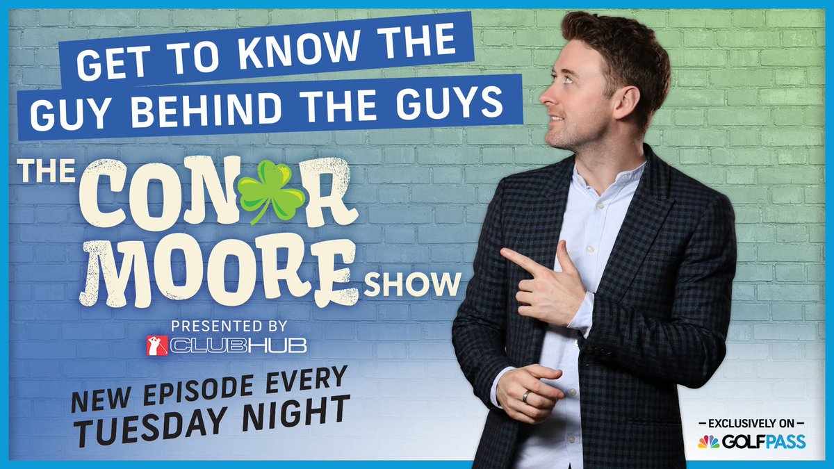 Need a new show to binge? 📲 Looking for a good laugh? 🤣 We have you covered! Stream the first ten episodes of The Conor Moore Show starring @ConorSketches on GOLFPASS: golfpass.social/iy6