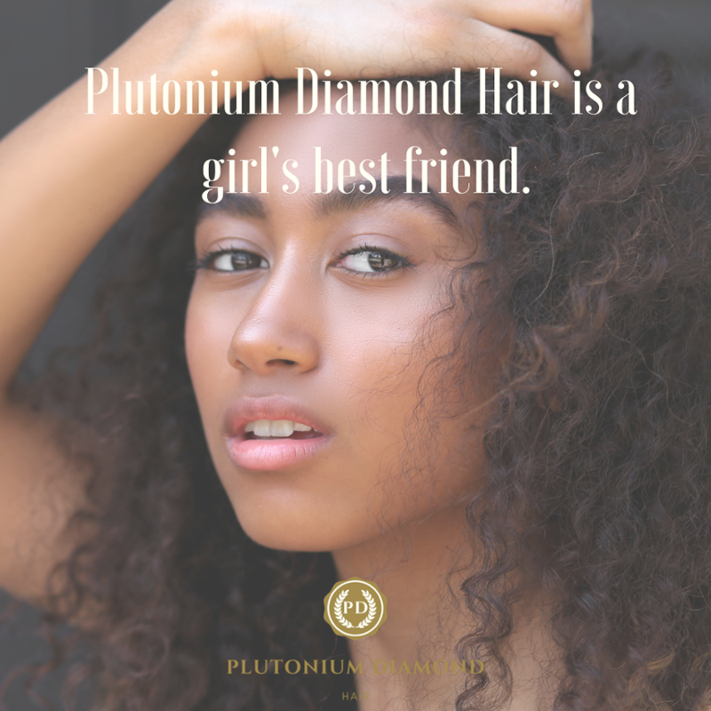 Plutonium Diamond Hair is a girl's best friend. #PDHair #beautifulhairstyle#fabulous#luxury#glamour #bundles #closures #diamonds#curls #extensions #frontals #fullweave #goodhair #hair#fun #hairofinstagram#beauty#beautifulhair #hairstylist #hairstyles#virginhair #remyhair