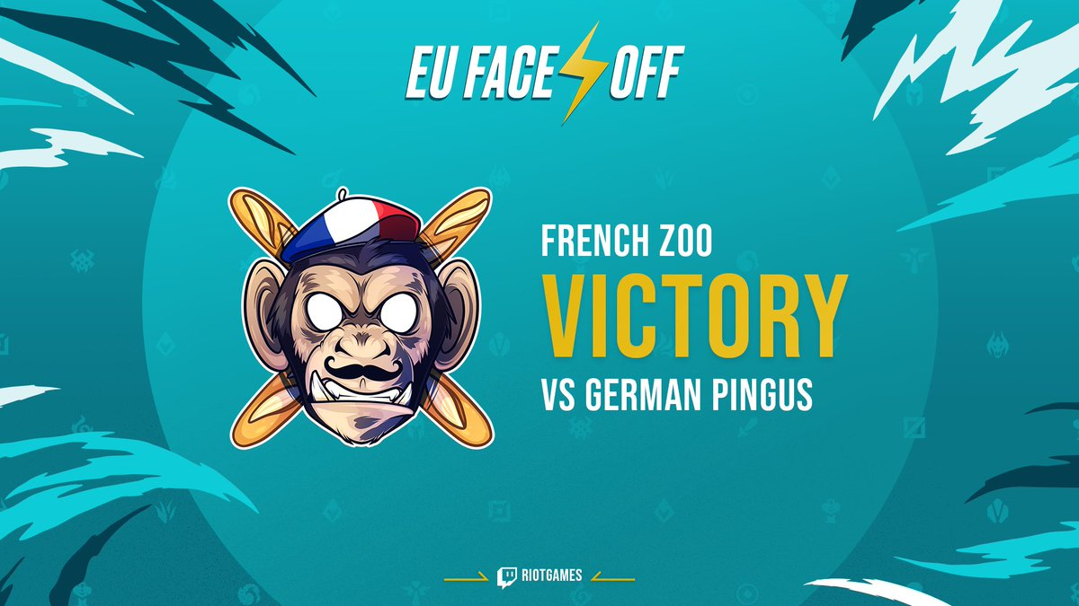 🇫🇷 Welcome to the #EUFaceoff Final 🇫🇷 The French Zoo take down the German Pingus!