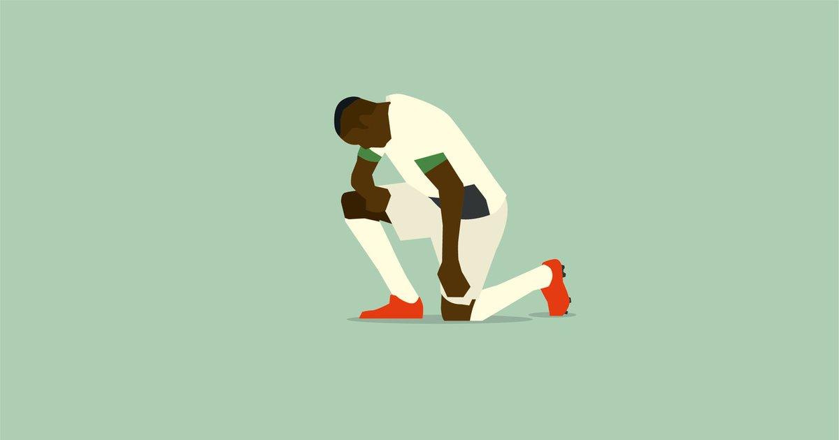 On your knees, racism. ✊🏾 #handsofgod #USAonFire #USA #Thuram #Gladbach #neinzurassismus #NoToRacism #Bundesliga #weekend
